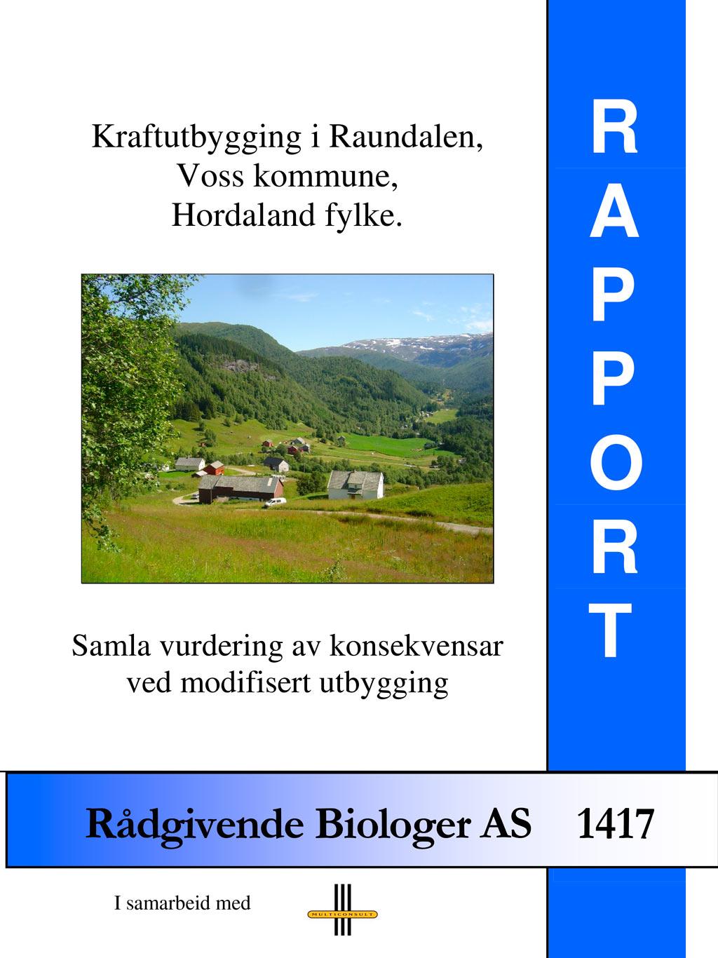 Rådgivende biologer: Rapport 2010